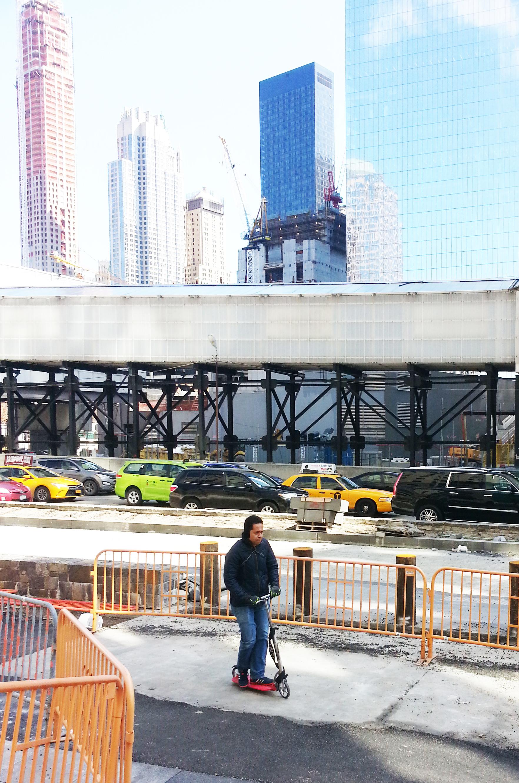 SPARKESYKKEL I NEW YORK